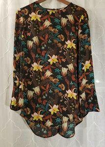 H&M floral blouse